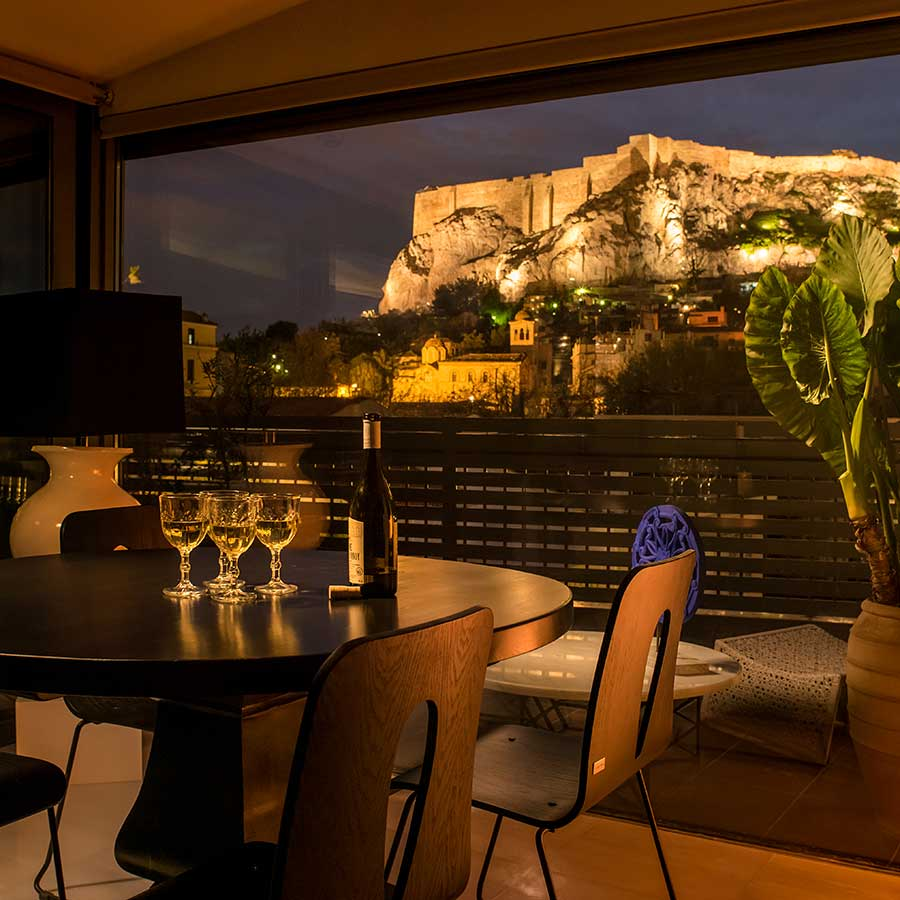 Presidential Apartment In Plaka With Panoramic Acropolis